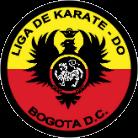 Logo Liga de Karate de Bogotá