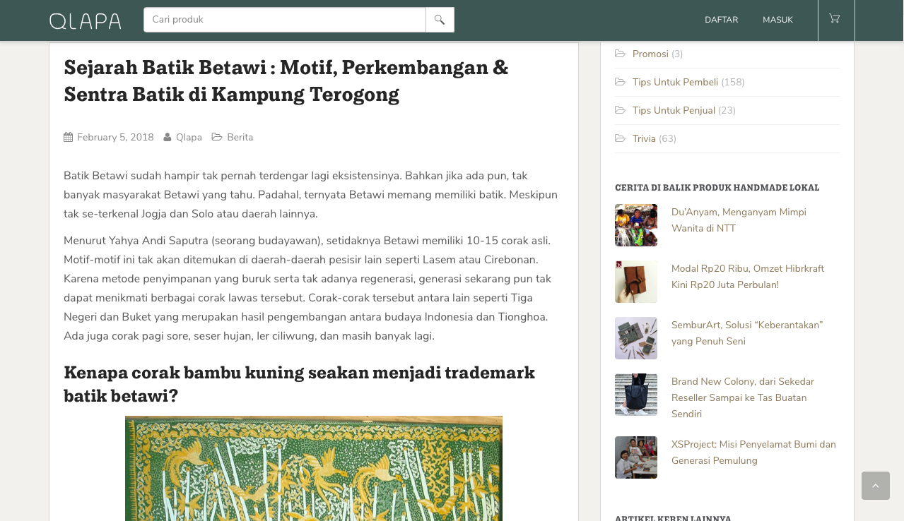 Kontena Indonesia; artikel seo friendly