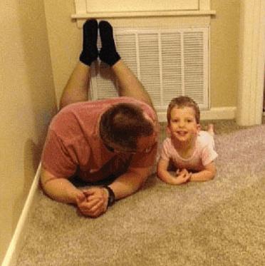 Caleb and his Dad