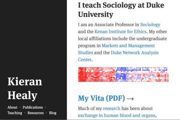 Kieran Healy's Website