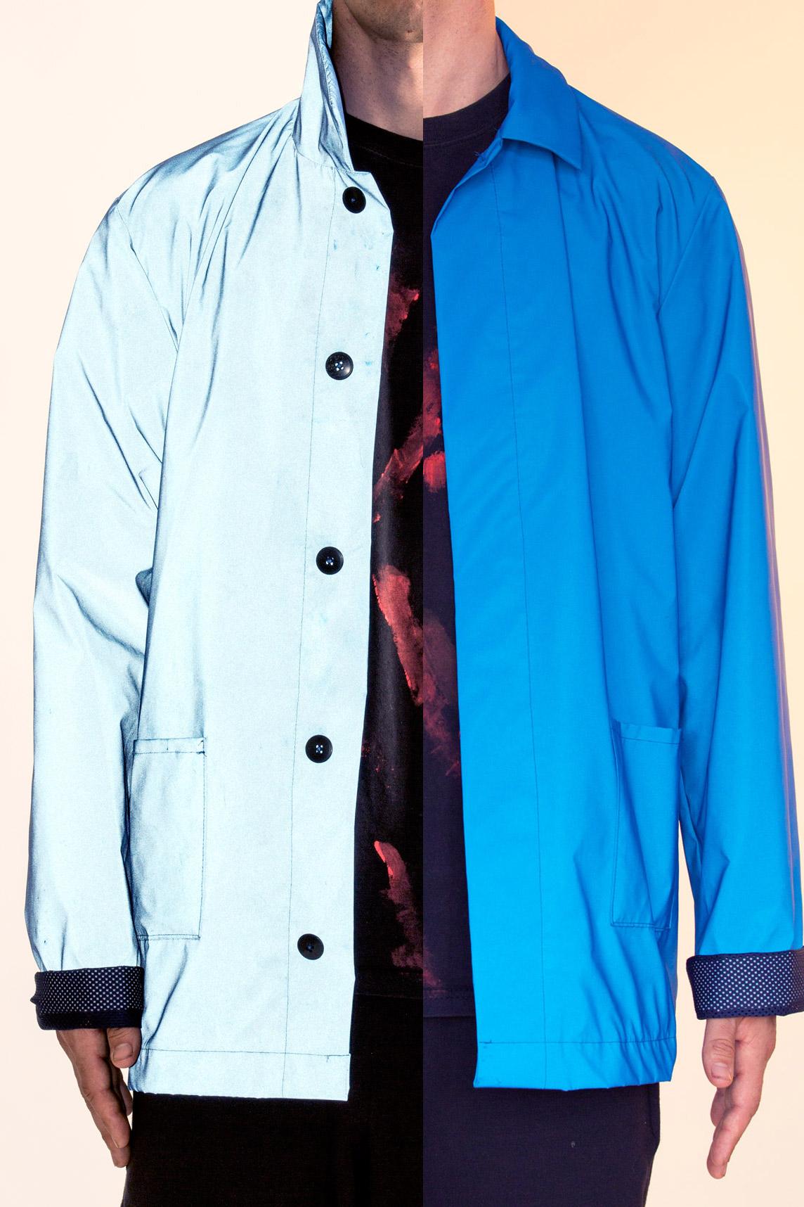 Blue Reflective Jacket