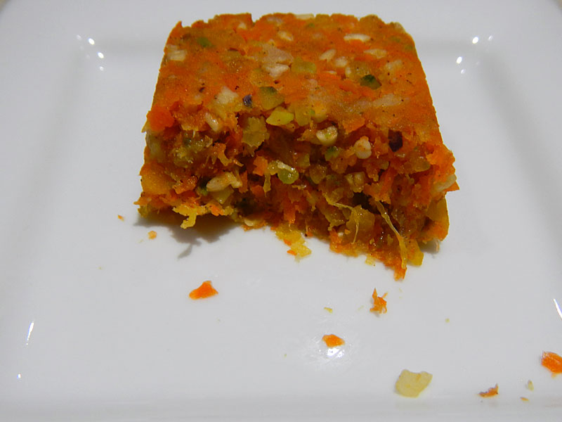 Raw Humming Bird Cake Texture