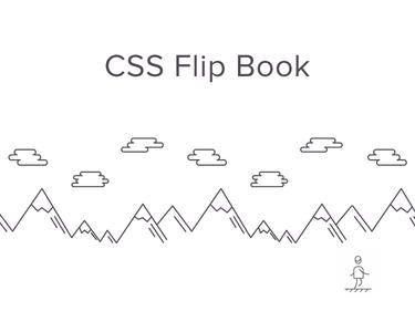 Css flip book thumb