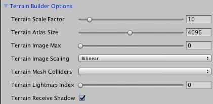 Terrain Options