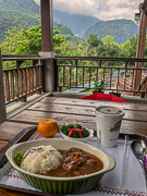 Lunch with a view! Taroko National Park, Taiwan, 2018