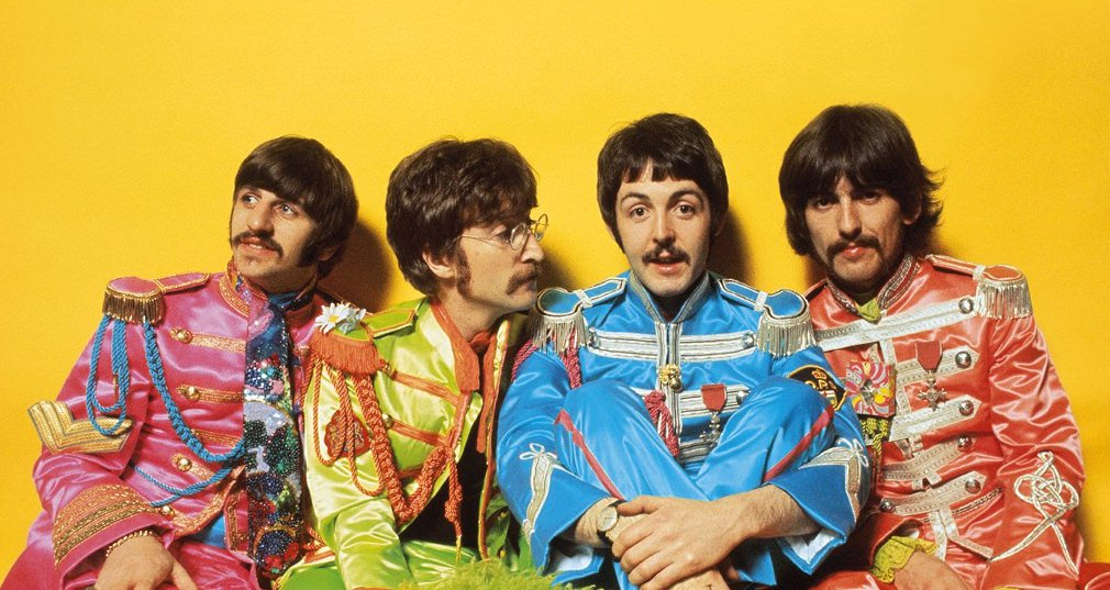The Beatles from Sgt. Pepper's Lonely Hearts Club Band album