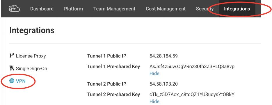 VPN Integrations