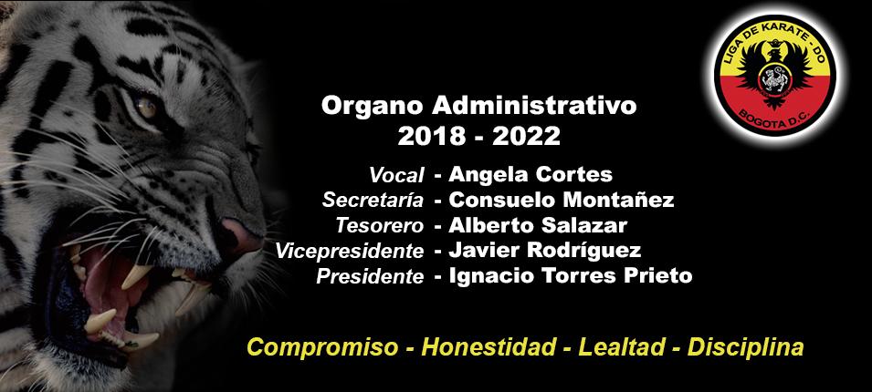 Imagen de portada para el artículo: Organo Administrativo 2018 - 2022