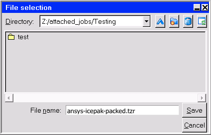 Icepak Desktop Pack Dialog