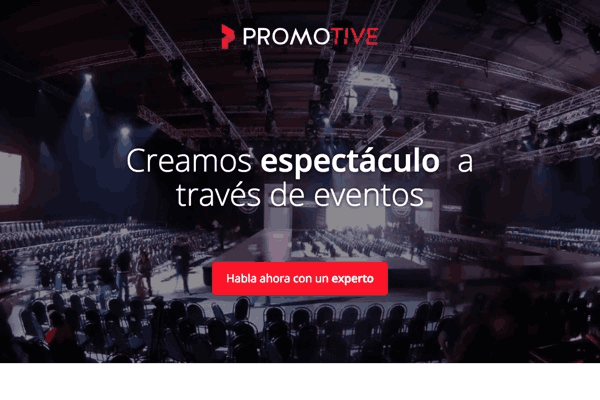 Corporate website a event management agency