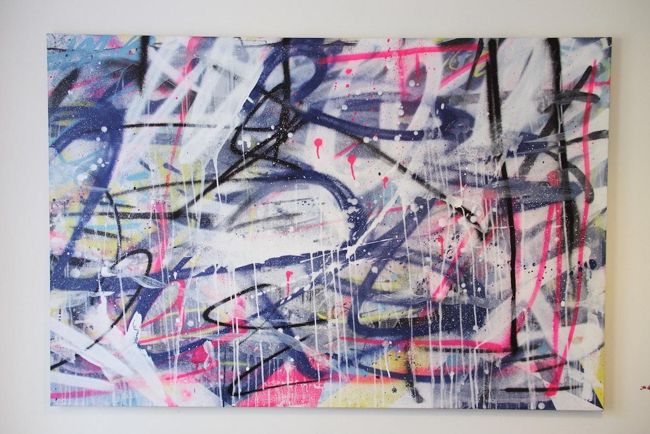 graffiti urban street art panel 1