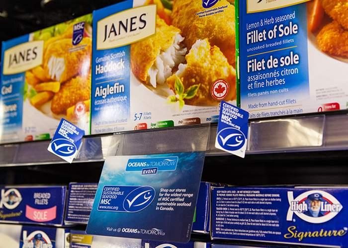 Vous pouvez trouver les produits labellisés MSC en magasins et sur les menus des restaurants de 100 pays à travers le monde.