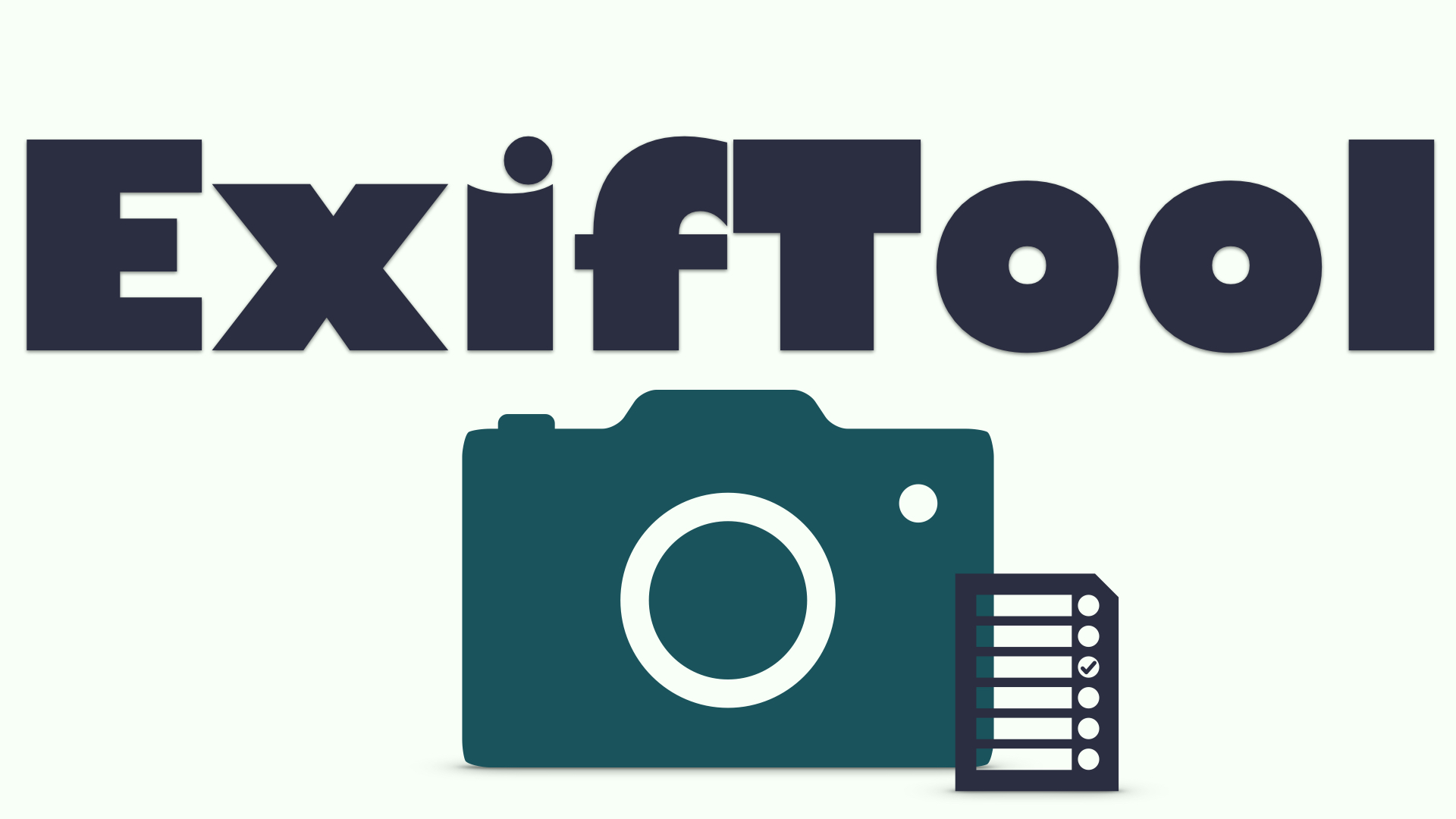 Tips & tricks to batch edit EXIF metadata of photos