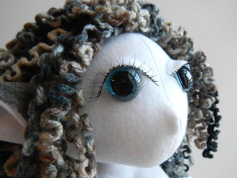 Sasha, Elf Poppet Doll, head, closeup