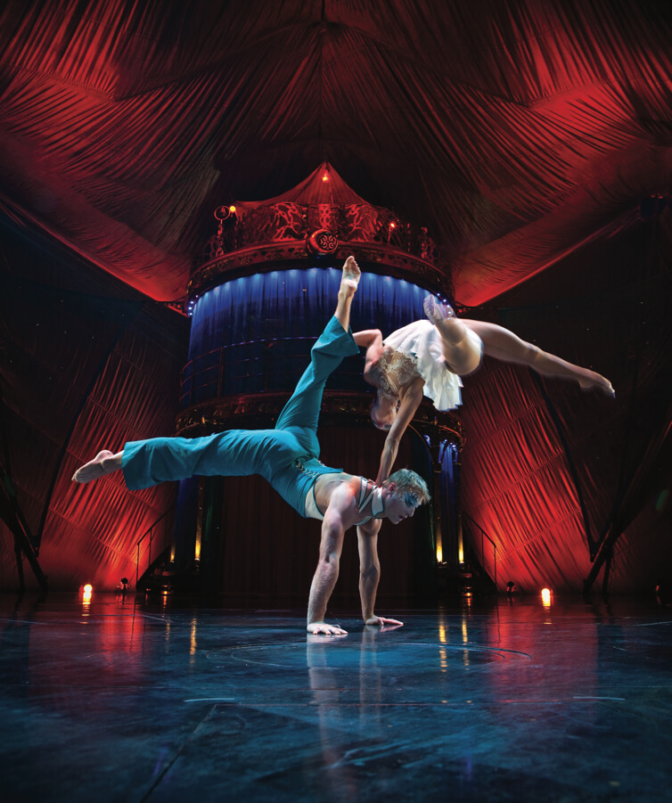 Personal training studio founded by Cirque-de-Soleil gymnasts and athletes