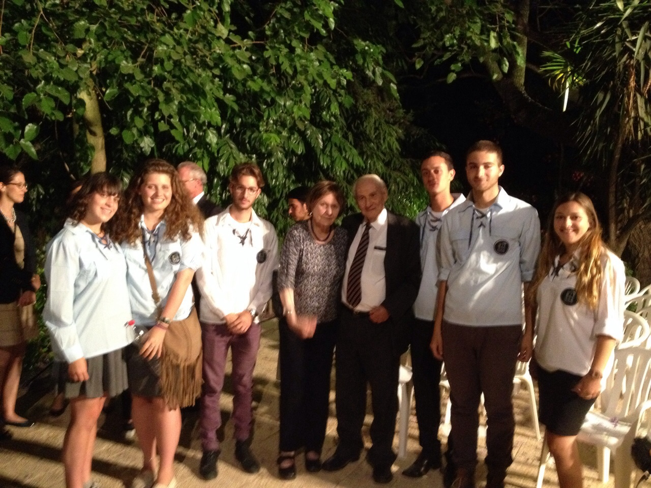 group of friends and israeli ambassador to england