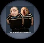 Judicial Madness Button 247 x 239