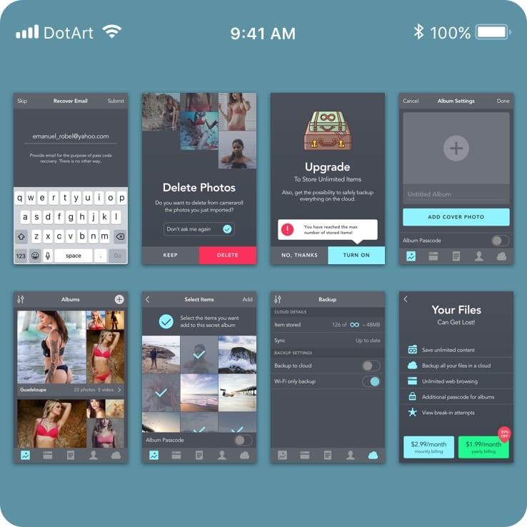 Private Vault App