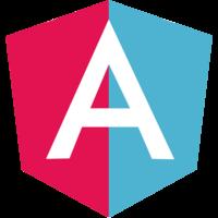 Angular in flip flops logo
