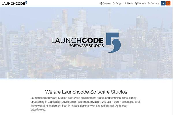 Corporate Site for Launchcode Software Studios