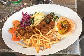 Yummy lunch on Monday. Vienna, Austria, 2017