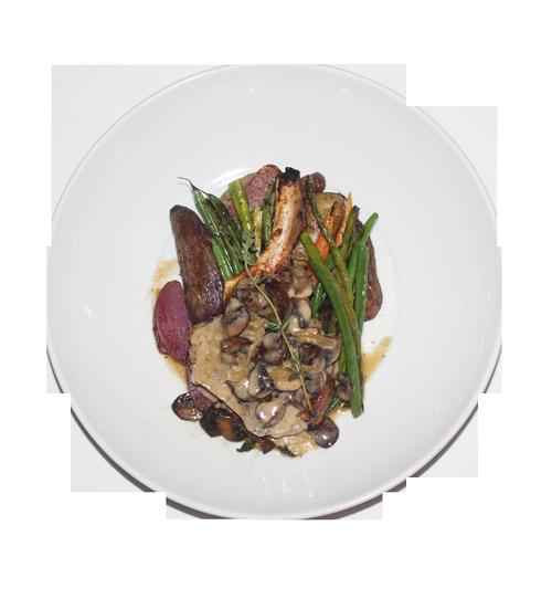 Dish of food