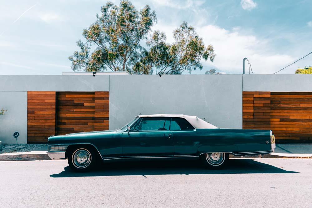 Cadillac in Los Angeles