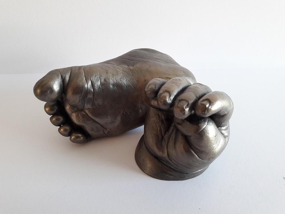 Cold cast statue