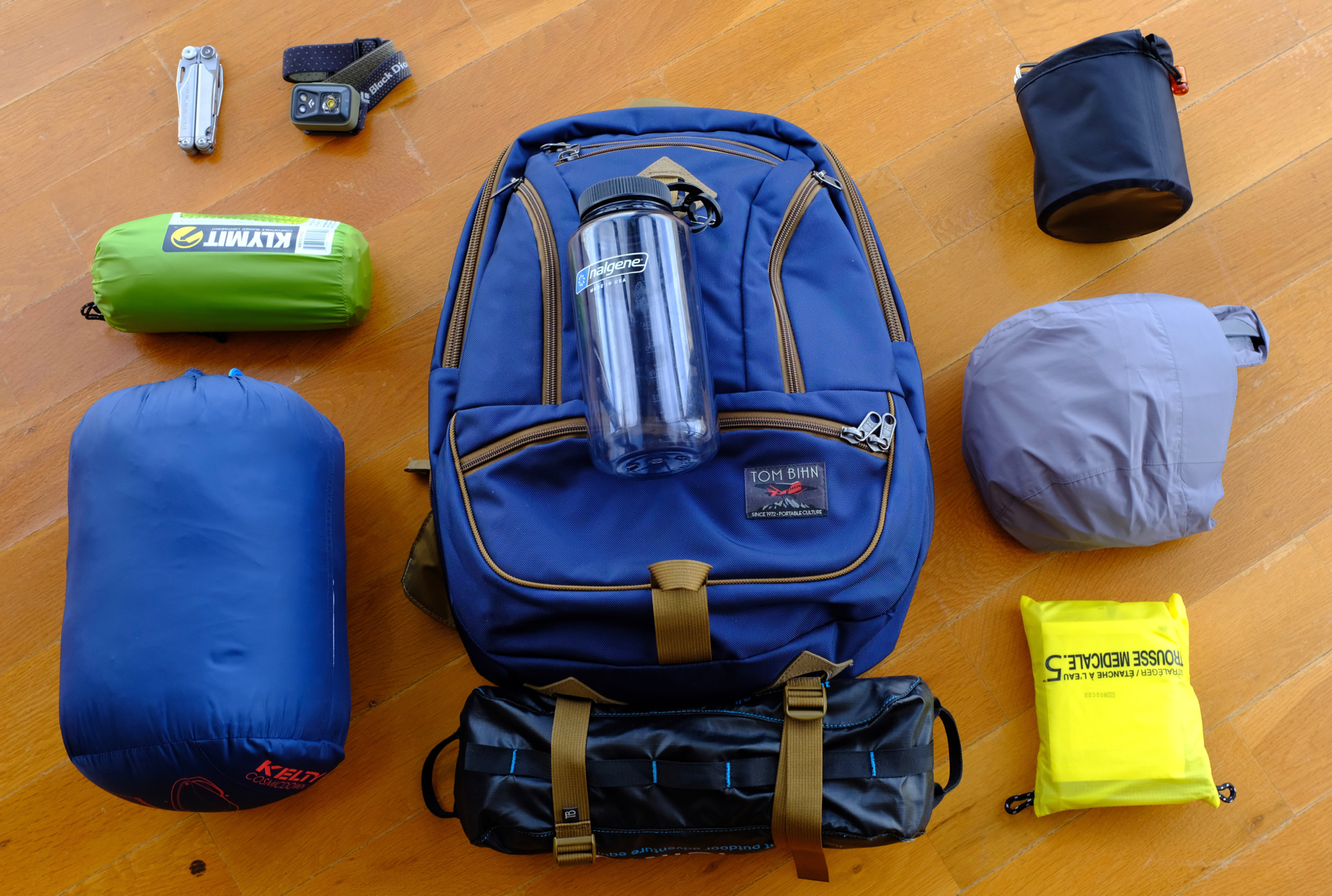 One day loadout for a day hike