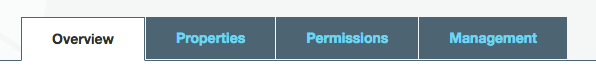 AWS Permissions Tab