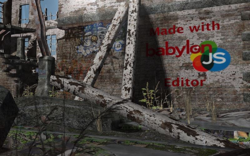Ruins Babylon.js demo