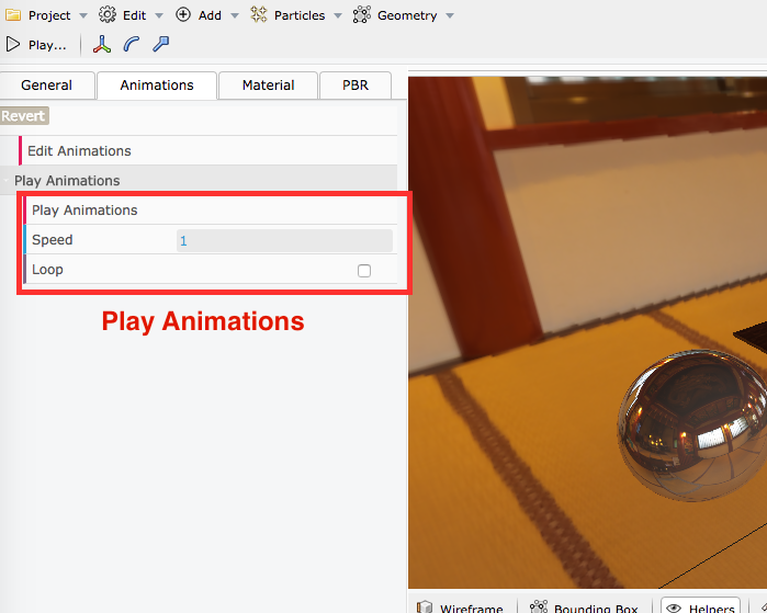 PlayAnimations