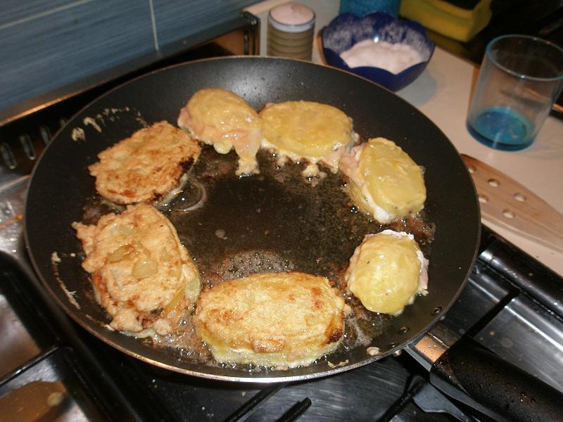 • I Pata-Sandwich in padella