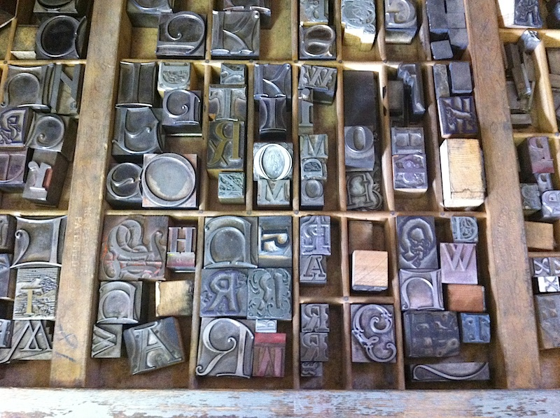 Naropa letterpress