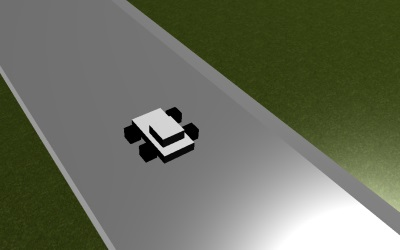 WebGL scene for CAR GAME