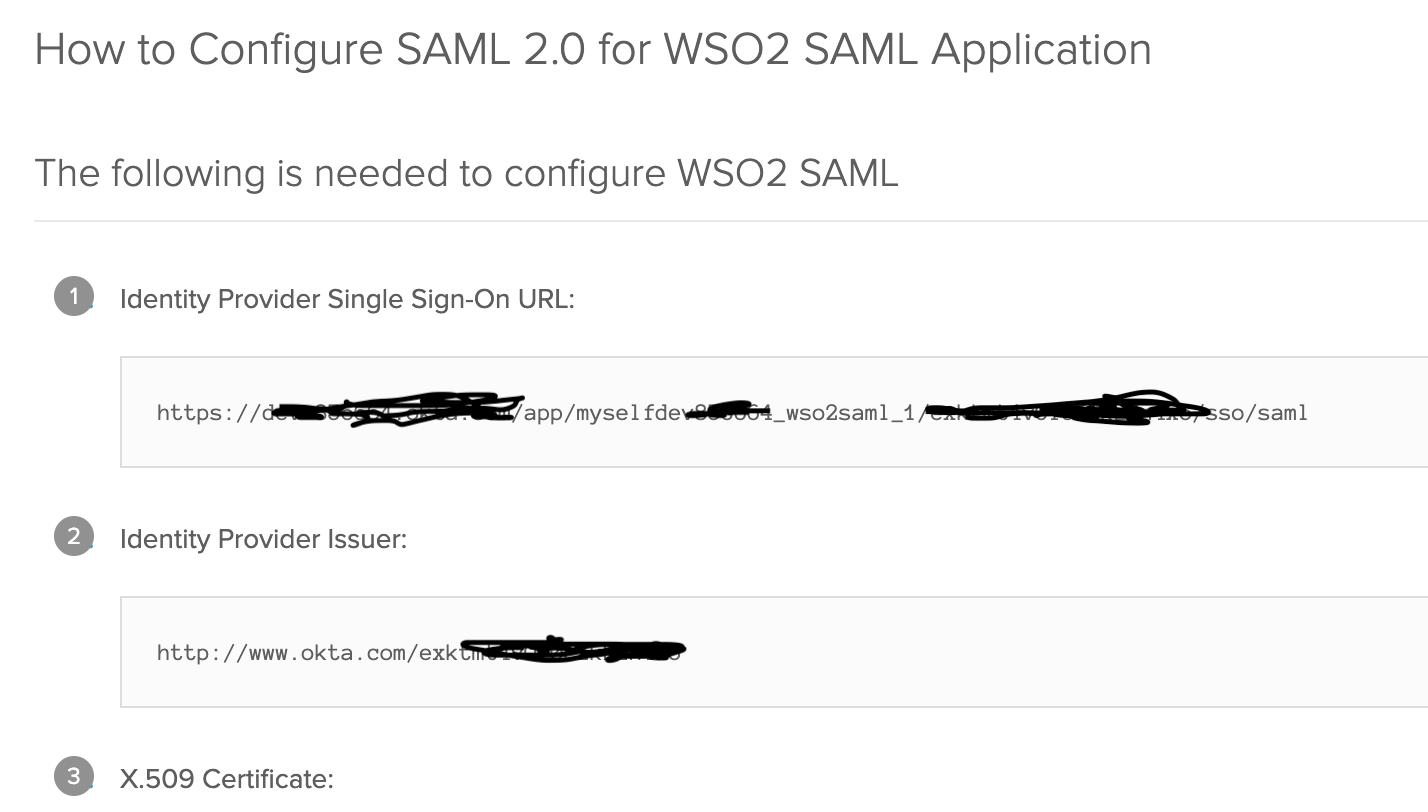 Okta SAML Setup