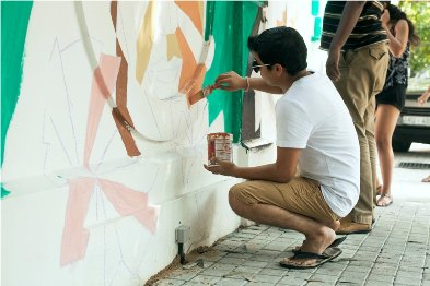 Aravani Art project