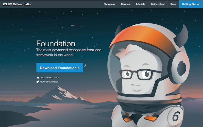 Foundation screenshot