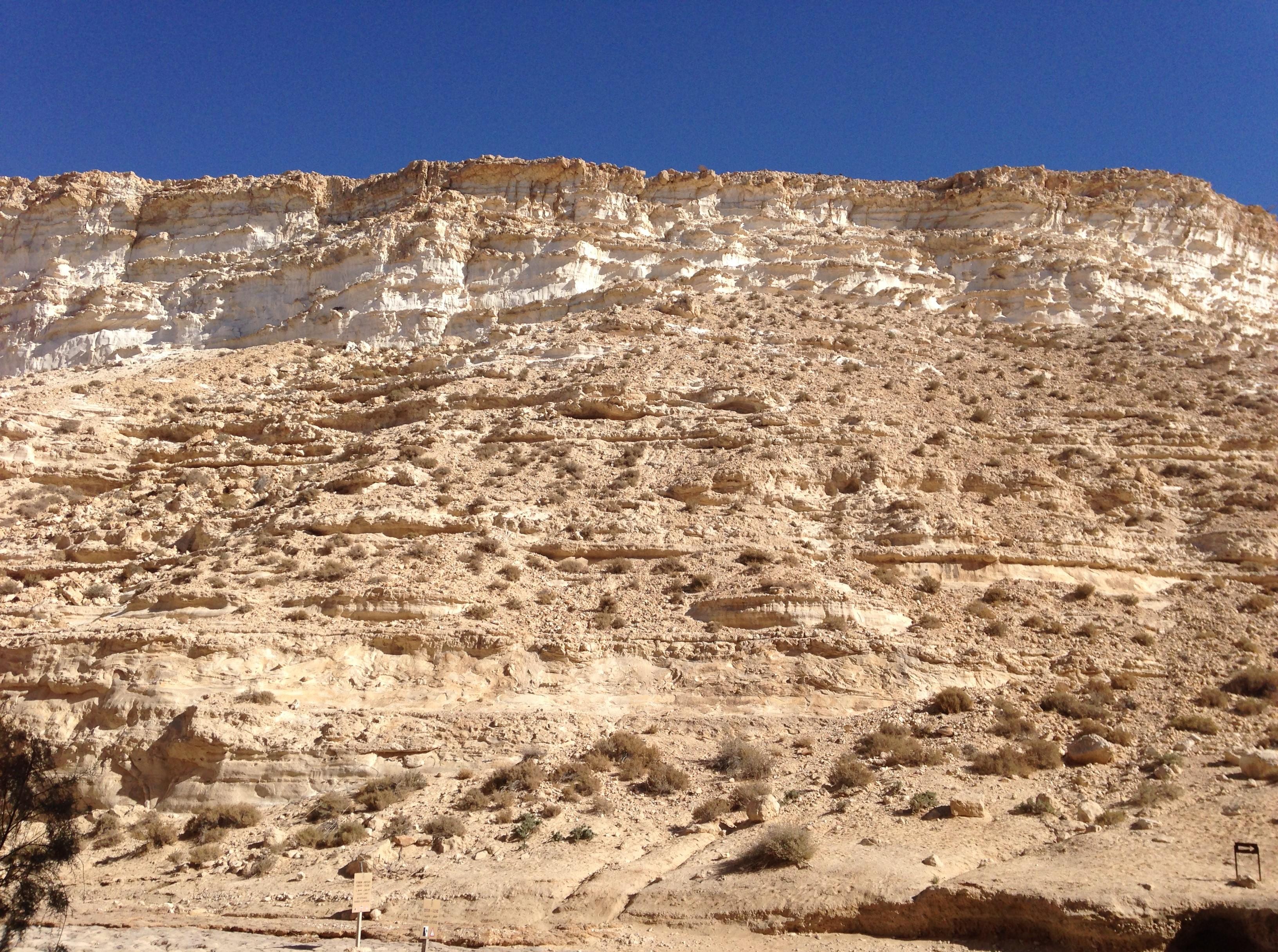 hill in desert