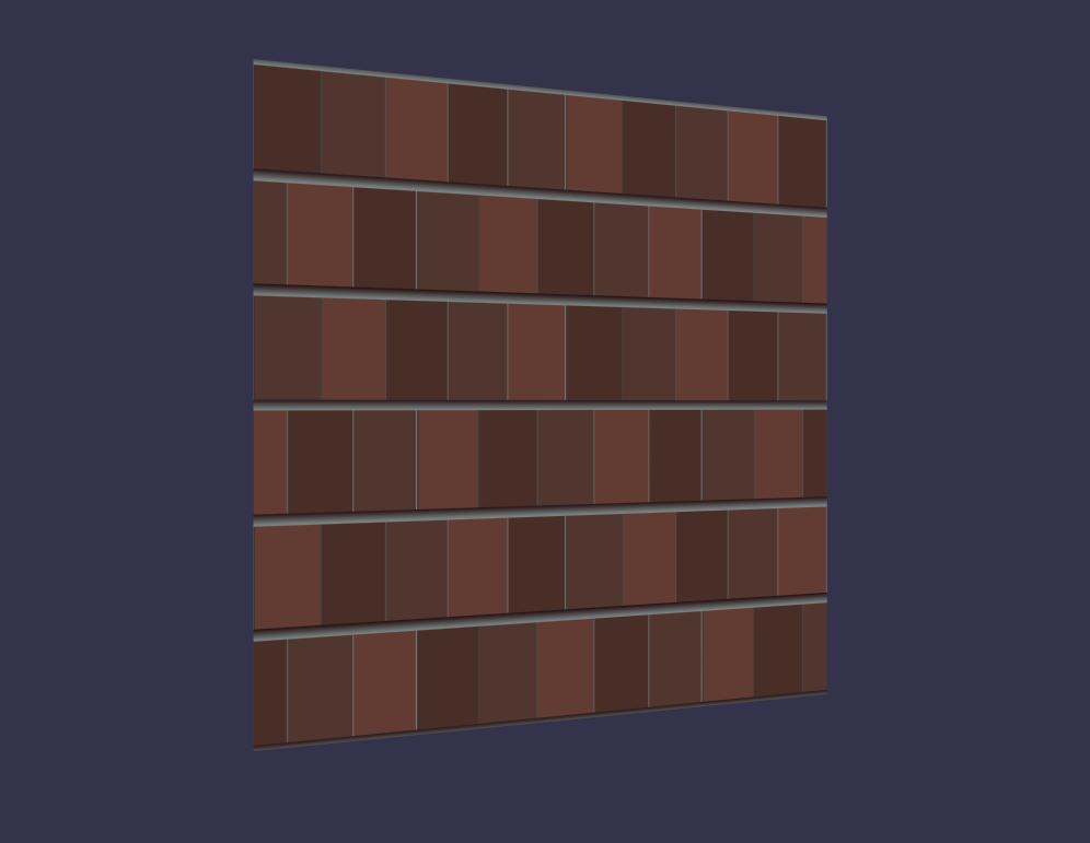 Brick Procedural texture