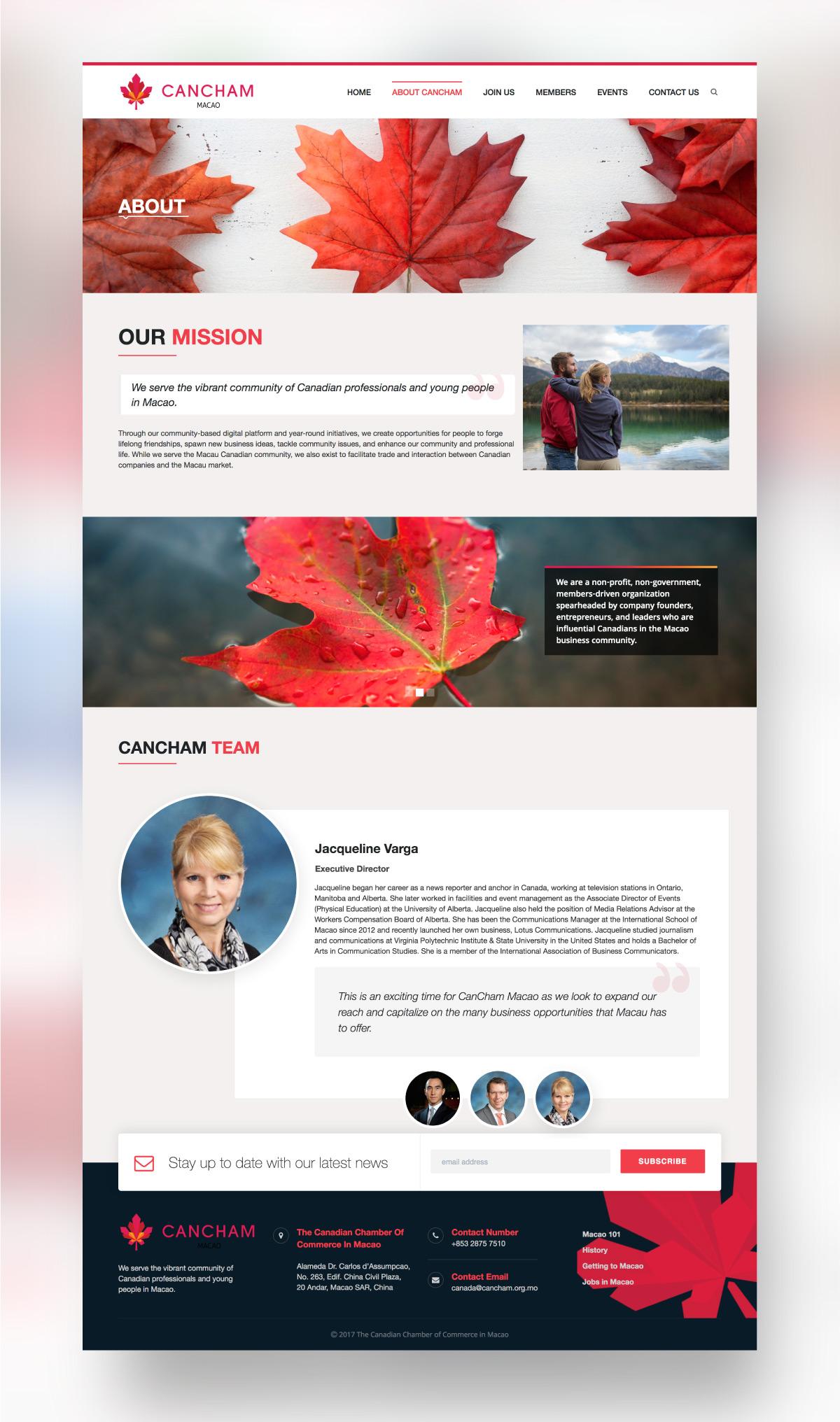CanCham Website
