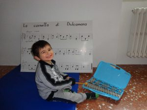 Teaching my child music was fun for both parent and child