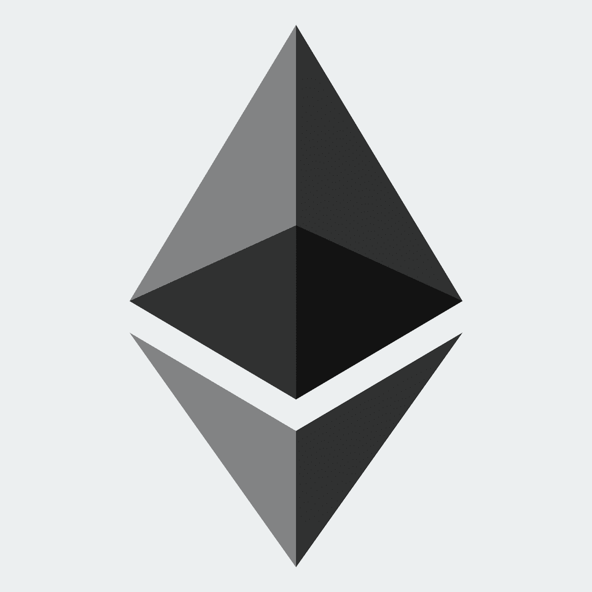 Ethereum logo black
