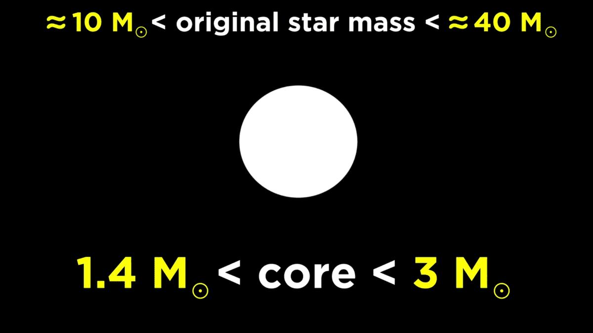 HIgher core mass