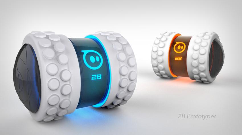 Sphero 2B - White Tires