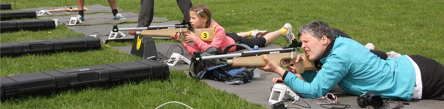 infrarood biathlon- en sportpistoolschieten