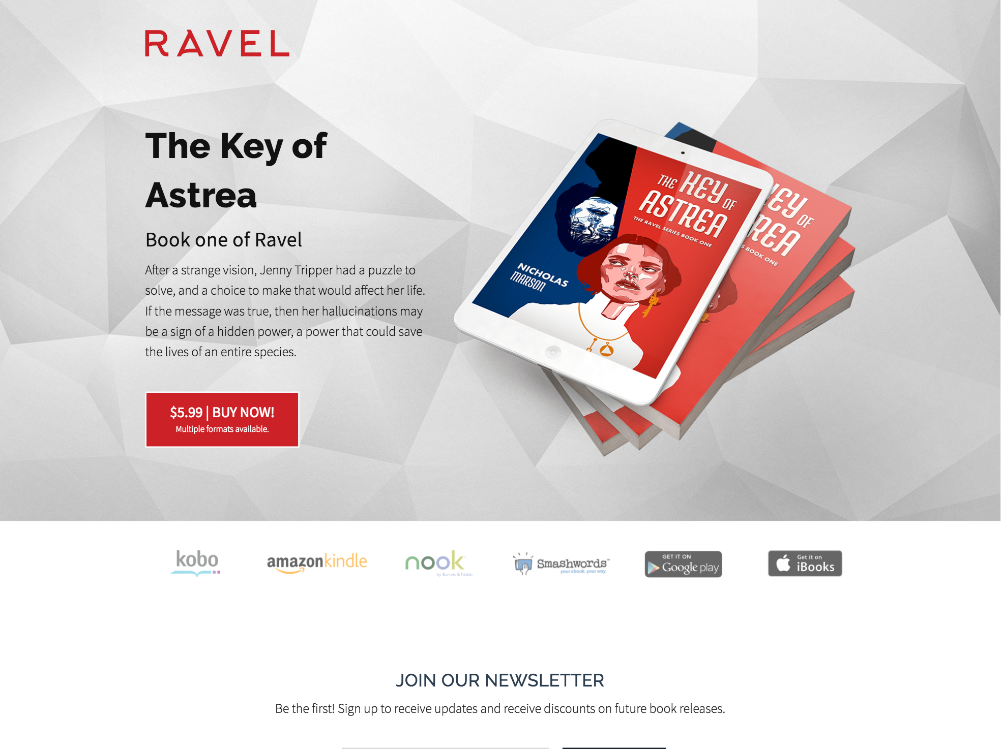 Ravel - The Key of Astrea home page