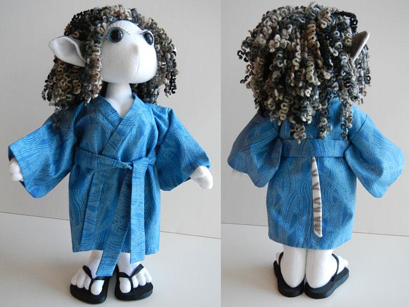 Sasha, Elf Poppet Doll, robe