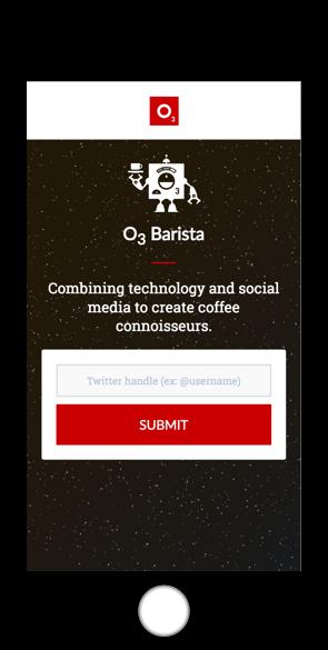 O3 Barista homepage