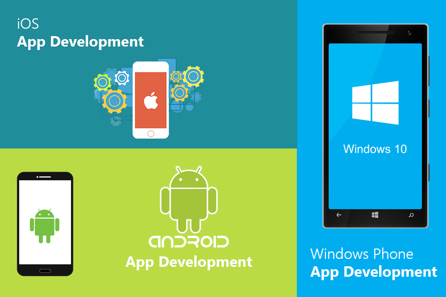 طراحی اپلیکیشن Android, iOS و Windows Phone